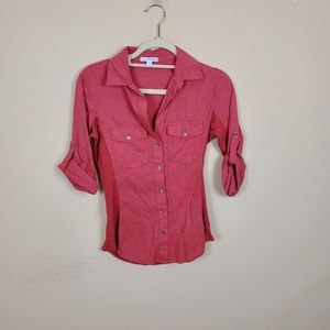 4/$25 Standard James Perse Button Up Blouse